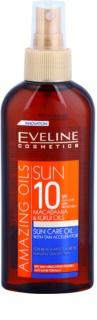 Eveline Cosmetics Sun Care olje v pršilu za sončenje SPF 10