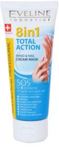 Eveline Cosmetics Total Action krema za roke in nohte 8 v 1