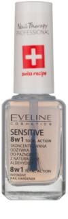Eveline Cosmetics Total Action verniz endurecedor 8 em 1