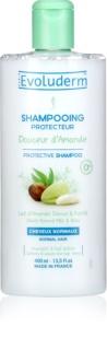 Evoluderm Doucer d Amande Beschermende Shampoo  voor Normaal Haar