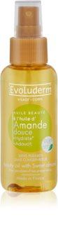 Evoluderm Beauty Oil upiększający olejek do skóry i włosów z wyciągami z migdałów