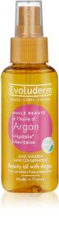 Evoluderm Beauty Oil huile sublimatrice visage et cheveux à l'huile d'argan
