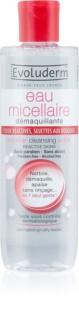 Evoluderm Micellar Water zuiverend micellair water voor de reactieve huid