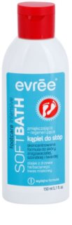 Evrée Foot Care intensives einweichendes Fußbad mit regenerierender Wirkung
