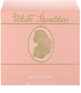 Evyan White Shoulders polvos corporales para mujer 75 g