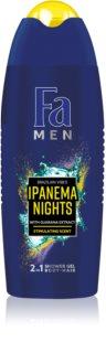 Fa Men Brazilian Vibes Ipanema Nights διεγερτικό τζελ για ντους 2 σε 1