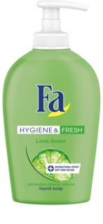 Fa Hygiene & Fresh Lime Liquid Soap With Pump