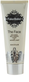 Fake Bake The Face Self - Tanning Milk with Anti-Aging Effect