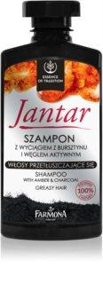Farmona Jantar sampon aktív faszénnel zsíros hajra