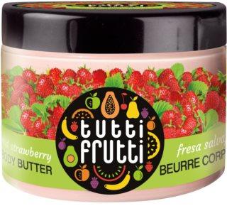 Farmona Tutti Frutti Wild Strawberry manteca corporal con efecto terciopelo