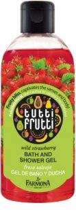 Farmona Tutti Frutti Wild Strawberry tusoló- és fürdőgél