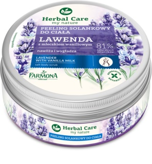 Farmona Herbal Care Lavender gommage au sel effet hydratant