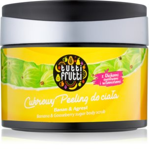 Farmona Tutti Frutti Banana & Gooseberry Sugar Body Scrub