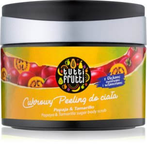Farmona Tutti Frutti Papaja & Tamarillo απολέπιση ζάχαρης για το σώμα