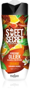 Farmona Sweet Secret Orange tusoló és fürdőolaj