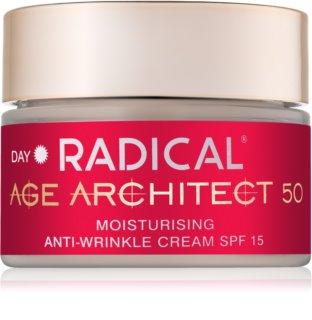 Farmona Radical Age Architect 50+ creme hidratante antirrugas SPF 15
