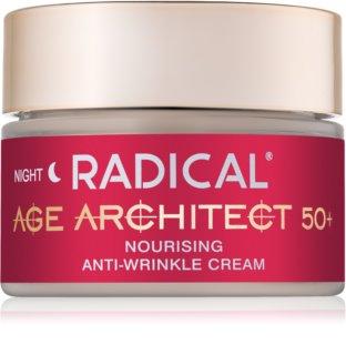 Farmona Radical Age Architect 50+ creme nutritivo antirrugas  para a noite