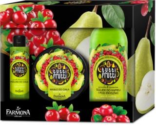 Farmona Tutti Frutti Pear & Cranberry kozmetika szett III.
