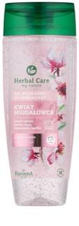 Farmona Herbal Care Almond Flower gel de limpeza micelar para rosto e olhos