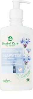 Farmona Herbal Care Cornflower gel calmante de higiene íntima para pieles sensibles e irritadas