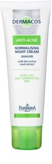 Farmona Dermacos Anti-Acne Normalising and Sebum-Regulating Night Cream