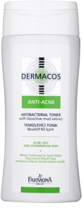 Farmona Dermacos Anti-Acne tónico antibacteriano para reducir poros dilatados