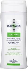Farmona Dermacos Anti-Acne tonico antibatterico contro i pori dilatati