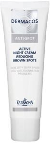 Farmona Dermacos Anti-Spot Active Nachtcrème voor het Reduceren van Pigment vlekken