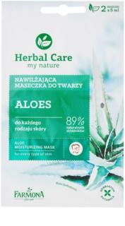 Farmona Herbal Care Aloe hydratačná maska  pre všetky typy pleti