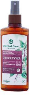 Farmona Herbal Care Nettle balzam brez spiranja v pršilu za mastne lase in lasišče