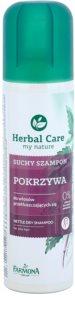 Farmona Herbal Care Nettle champô seco para cabelo oleoso