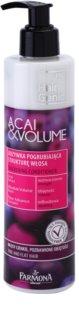 Farmona Hair Genic Acai & Volume acondicionador para cabello fino y lacio