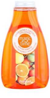 Farmona Magic Time Citrus Euphoria Douche en Bad Gel  met Voedende Werking