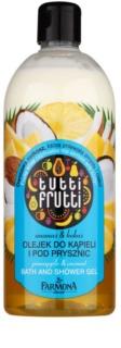 Farmona Tutti Frutti Pineapple & Coconut tusoló és fürdő géles olaj