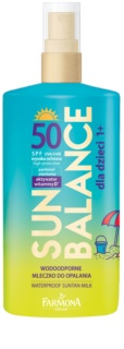 Farmona Sun Balance сонцезахисне молочко для дітей SPF50