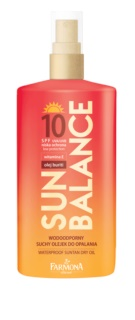 Farmona Sun Balance ochranný suchý olej na opalování SPF 10