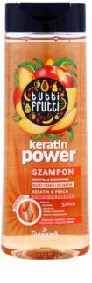 Farmona Tutti Frutti Keratin Power šampon pro jemné vlasy