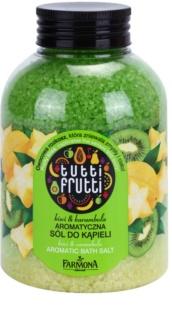 Farmona Tutti Frutti Kiwi & Carambola soľ do kúpeľa