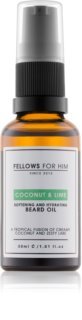 Fellows for Him Coconut & Lime óleo para barba