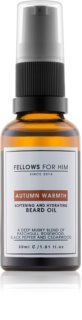 Fellows for Him Autumn Warmth óleo para barba