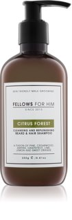 Fellows for Him Citrus Forest шампоан за коса и брада