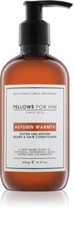 Fellows for Him Autumn Warmth condicionador para cabelo e barba