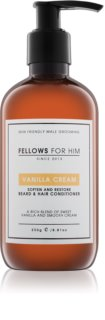 Fellows for Him Vanilla Cream condicionador para cabelo e barba