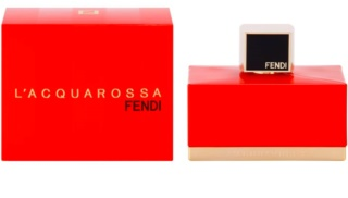 Fendi L'Acquarossa Eau de Toilette für Damen 75 ml