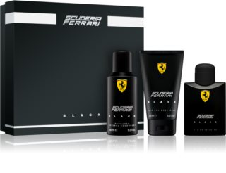 Ferrari Scuderia Ferrari Black Gift Set III. for Men