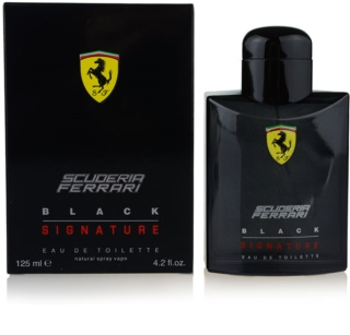 Ferrari Scuderia Ferrari Black Signature eau de toillete για άντρες