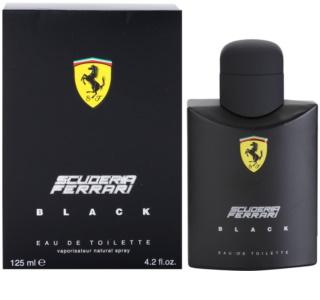 Ferrari Scuderia Ferrari Black eau de toilette férfiaknak 125 ml
