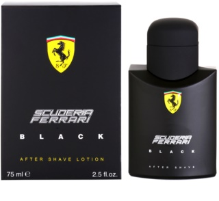 Ferrari Scuderia Ferrari Black After Shave Balsam für Herren 75 ml
