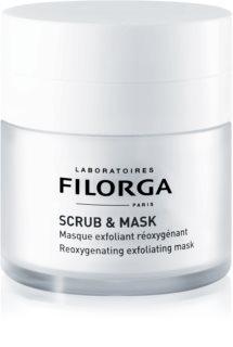 Filorga Scrub & Mask maschera esfoliante ossigenante per la rigenerazione cellulare della pelle