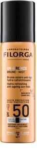 Filorga Medi-Cosmetique UV Bronze ochranná hydratační a osvěžujicí mlha proti příznakům stárnutí pleti SPF 50